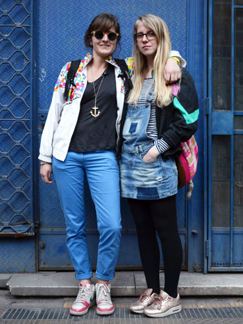 Marie Oquet y Pauline Cassac