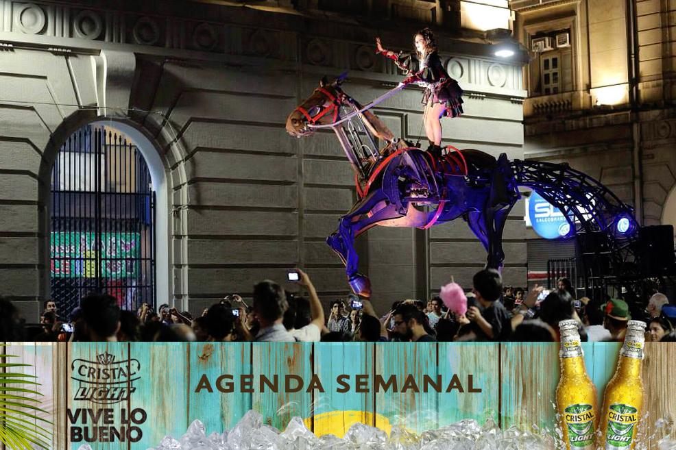 Agenda Cristal Light: Panoramas del 21 al 25 de enero