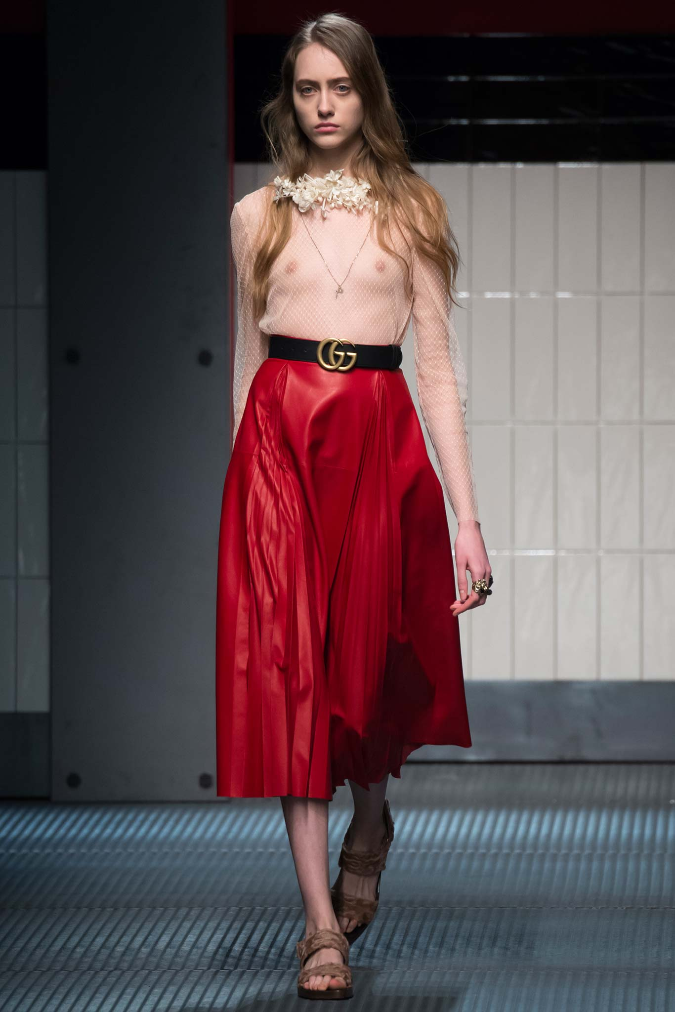 El debut de Alessandro Michele para Gucci