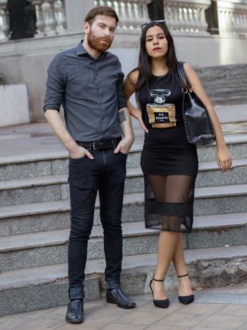 Aníbal González y Paula Rojas