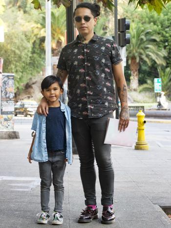Lorenzo Angulo y Johanny Angulo