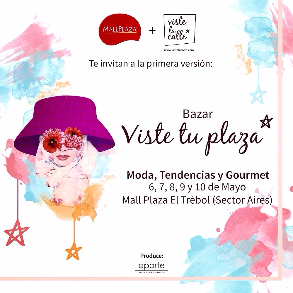 ¡Ya estamos en Concepción con la primera versión del bazar #VisteTuPlaza!