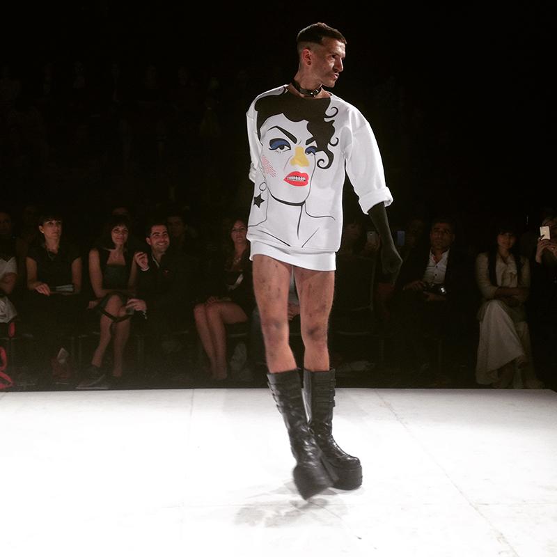 El desfile de Paulo Méndez en Santiago Fashion Week 2015