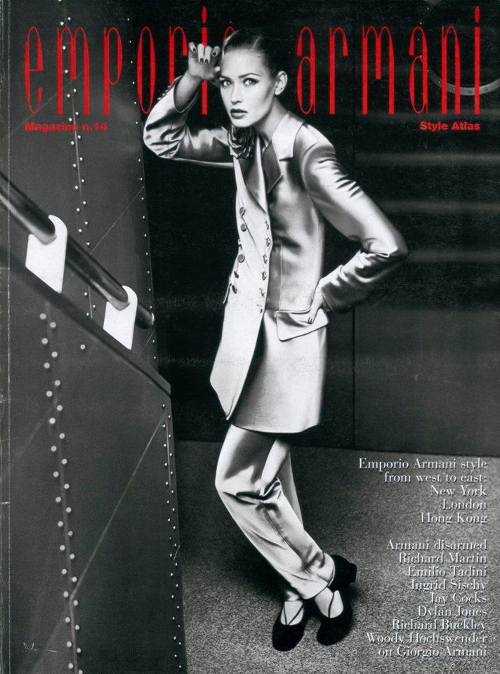 Flashback: Emporio Armani Magazine, una de las primeras revistas de marcas de lujo