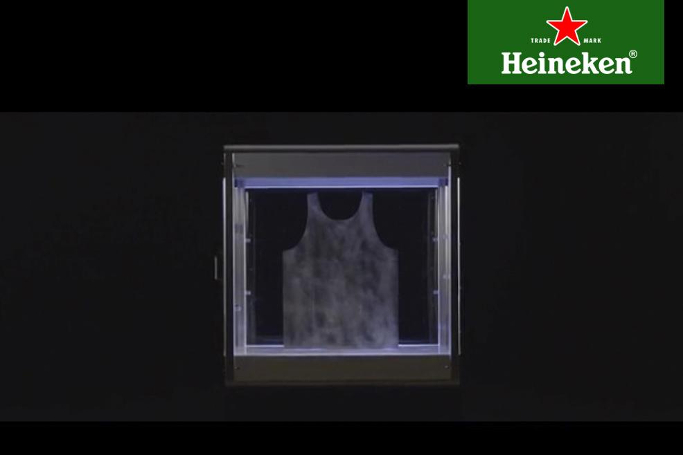 Electroloom, la impresora 3D que crea prendas de tela en #HeinekenLife