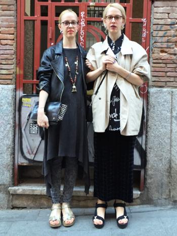 Georgia y Muriel Dedón