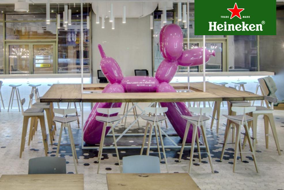 The Cake, la cafetería francesa que mezcla en su decoración lo tradicional con lo moderno  #HeinekenLife