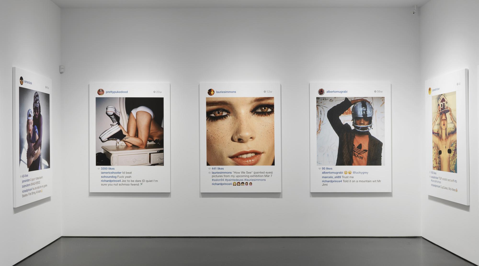 #VLCNewYork: la polémica exposición de Richard Prince con pantallazos extraídos de Instagram