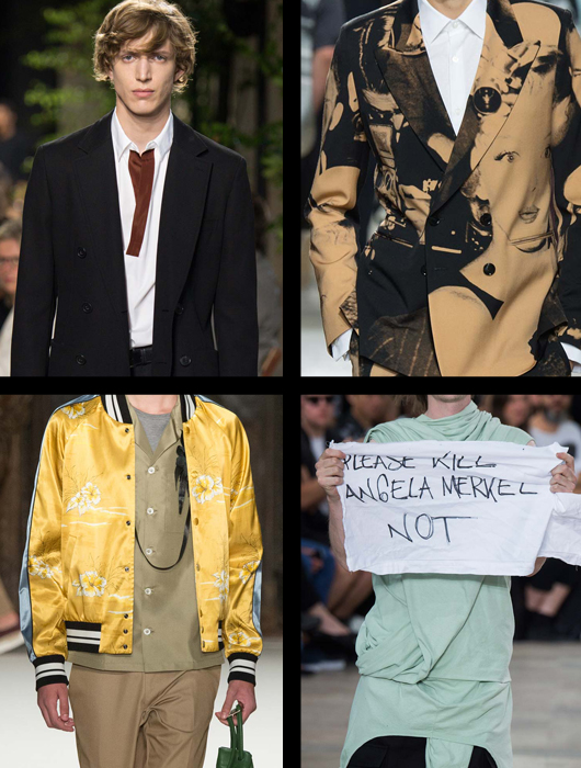 Lo que dejaron las pasarelas del Paris Men's Fashion Week SS 2016