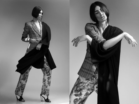"Entrevista al modelo andrógino Daniel Furlong: ""Solo he modelado tres veces como hombre en mi vida"""