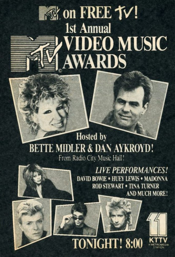 Flashback: Una mirada a los más de 30 años de los MTV Video Music Awards