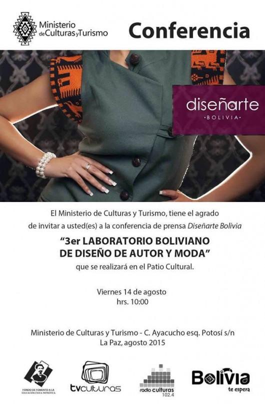 Ya comenzó la tercera versión del laboratorio de moda Diseñarte-Bolivia