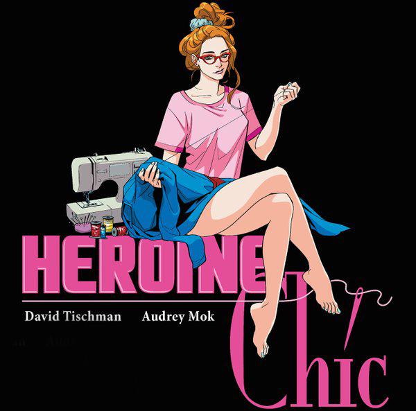 Heroine Chic, el nuevo comic sobre moda y superhéroes que puedes ver de manera gratuita y online