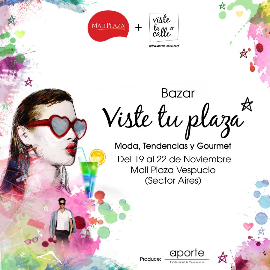 A partir de este jueves: Summer bazar VisteTuPlaza en Mall Plaza Vespucio