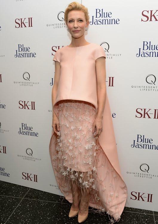 El estilo de Cate Blanchett en la alfombra roja