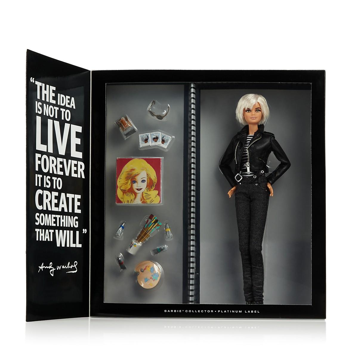 Barbie x Andy Warhol: La muñeca se mimetiza con el artista pop