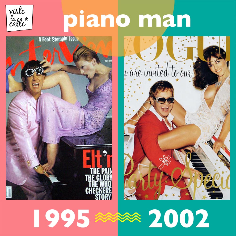 It's not the same but It's the same: Piano Man