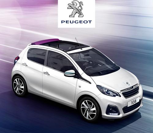 Diseño elegante, moderno y chic: Les contamos sobre el nuevo Peugeot 108 Top Allure