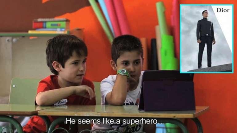 ¿Cómo reaccionan los niños ante la publicidad de modas?