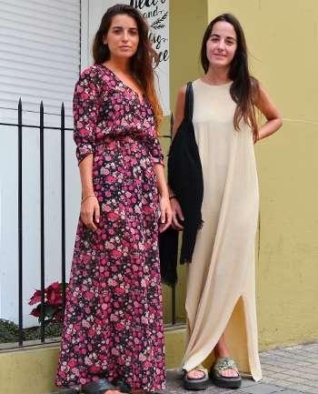 Macarena Arias y Camila Aguado