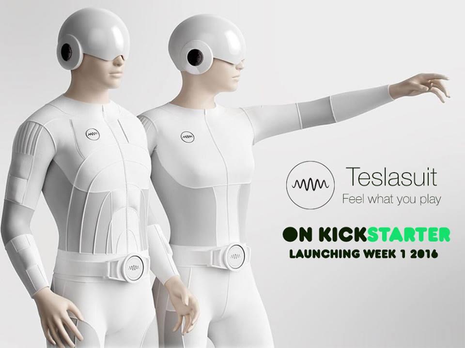 Moda y Tecnología: Hay un traje de realidad virtual capaz de grabar y reproducir sensaciones en la piel, y se llama Teslasuit