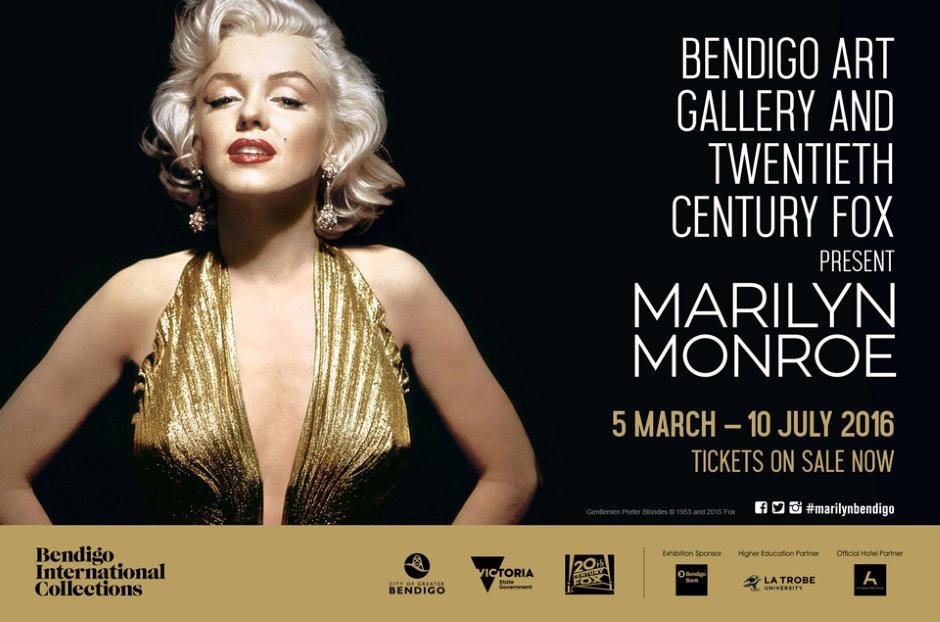 """""""Marilyn Monroe"""", una exhibición dedicada a la leyenda en Australia"""
