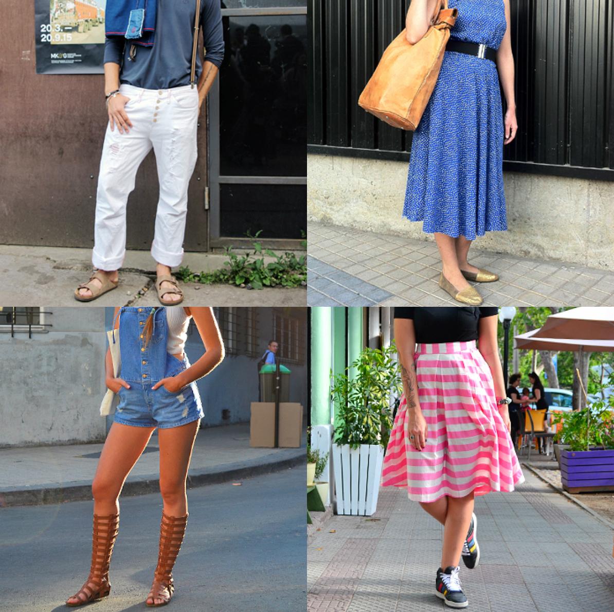 De los looks VLC: Distintas maneras de llevar zapatos en verano