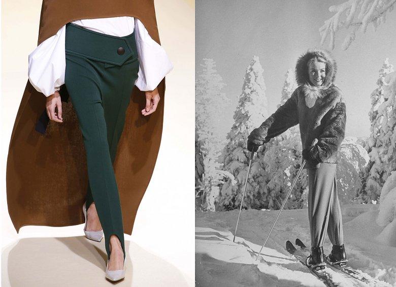 VLC Trends: El regreso de los pantalones con estribo ahora con tacos