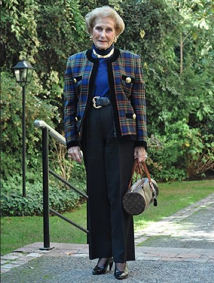 Adiós a Julita Astaburuaga, un ícono de estilo chileno