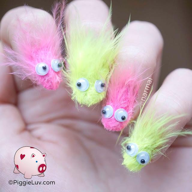 #NailArt: Uñas peludas