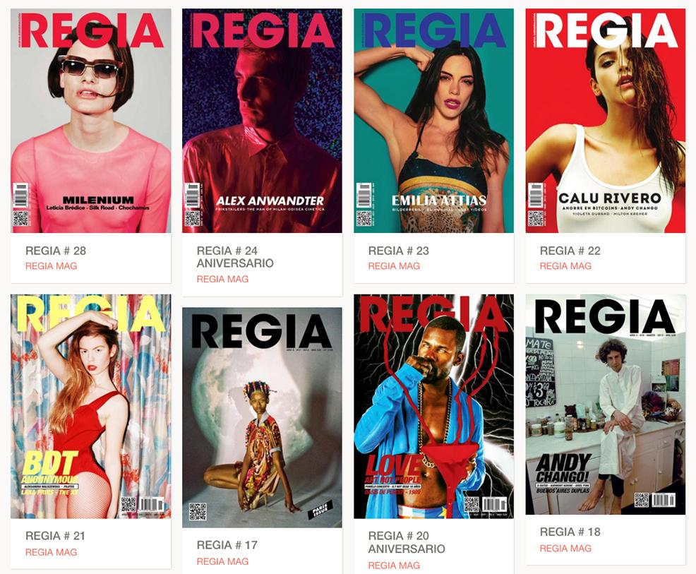 REGIA MAG, revista de moda independiente en Argentina