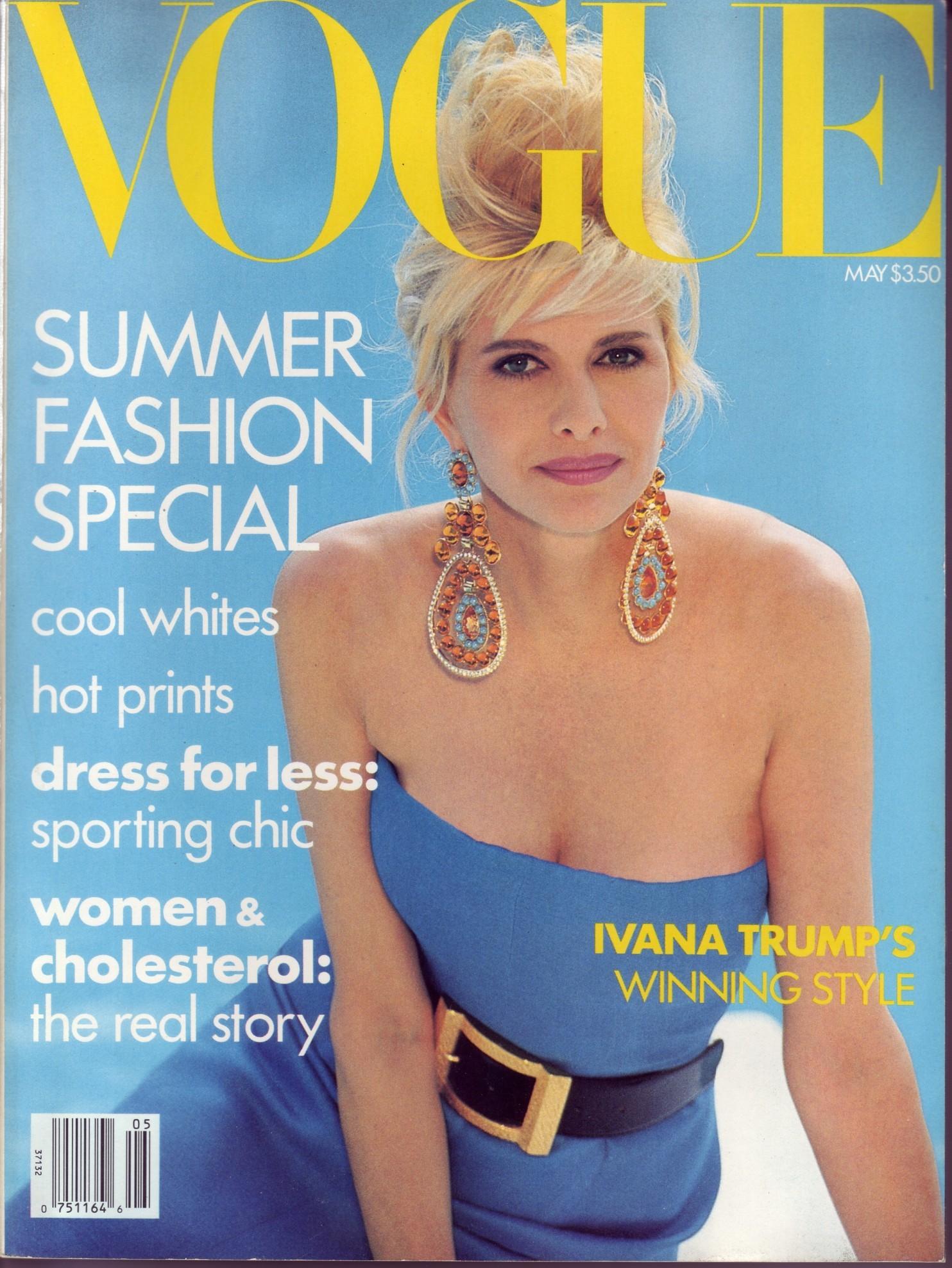 Flashback: Ivana Trump, la Alexis Carrington de la vida real