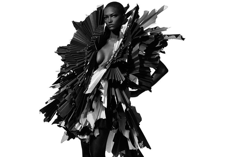 Las esculturas en papel de Zoe Bradley
