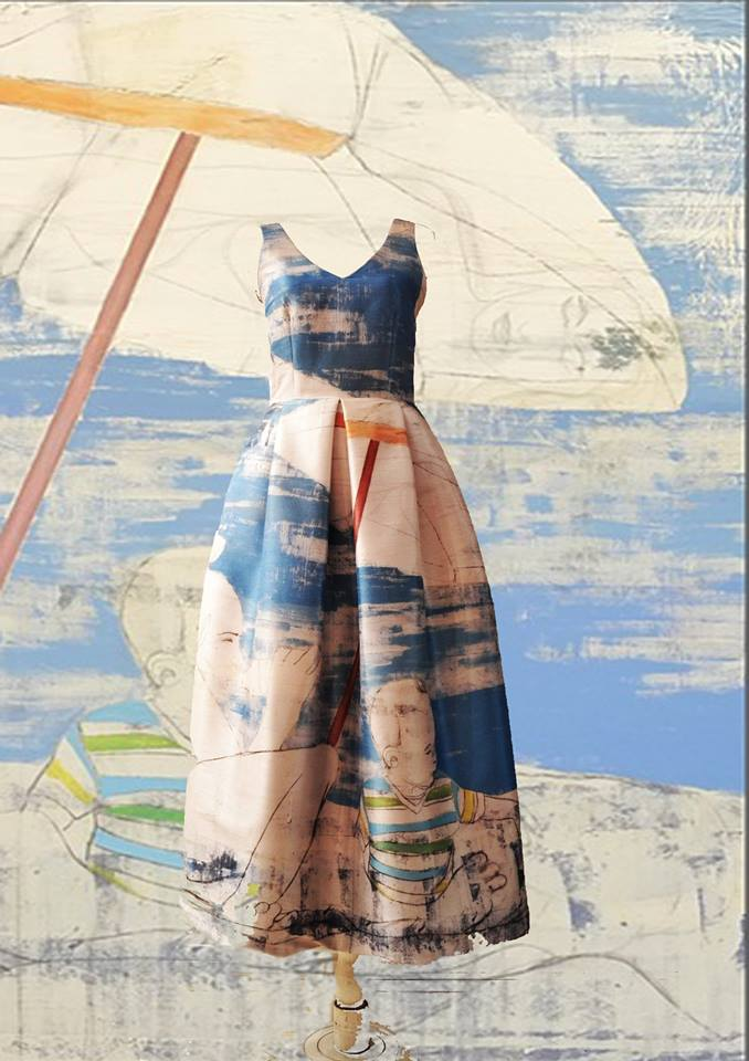 Mila Kartei, prendas con estampas femeninas únicas desde Argentina