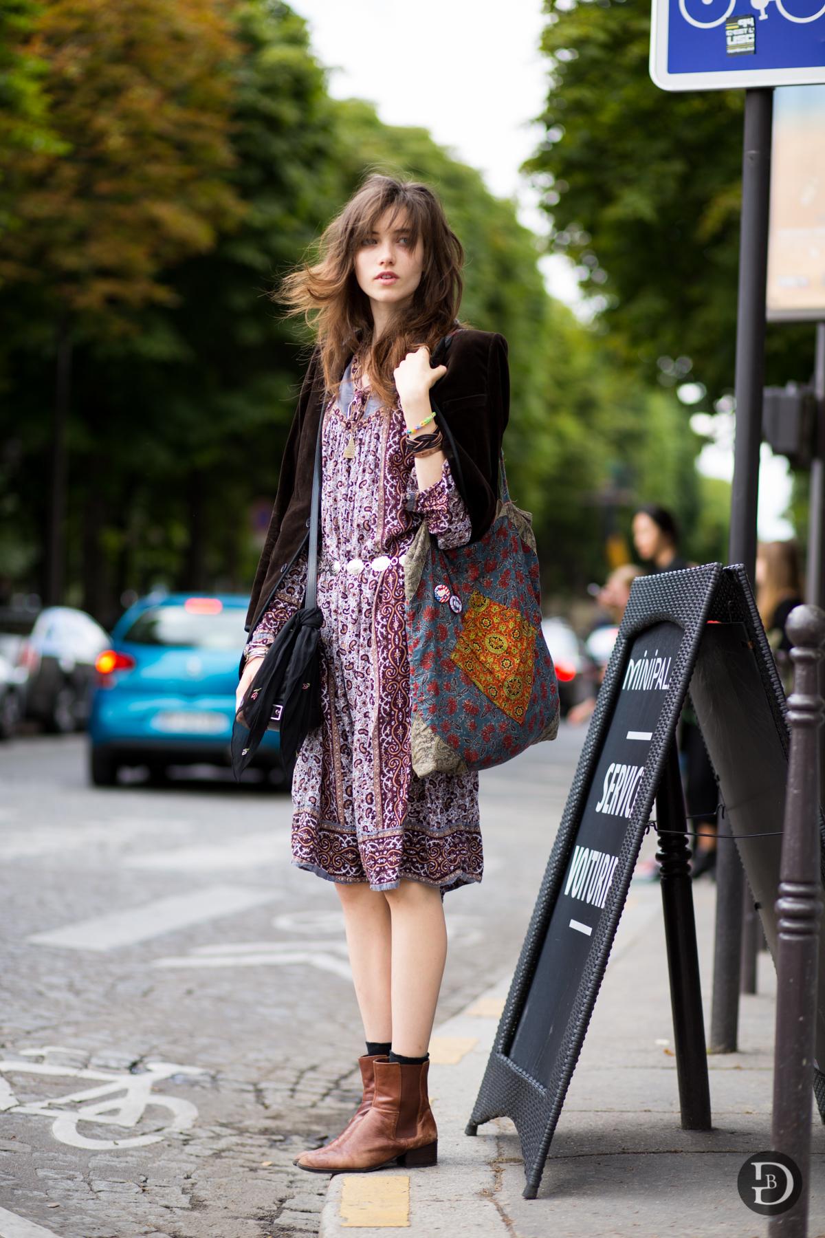 El estilo de la modelo Grace Hartzel