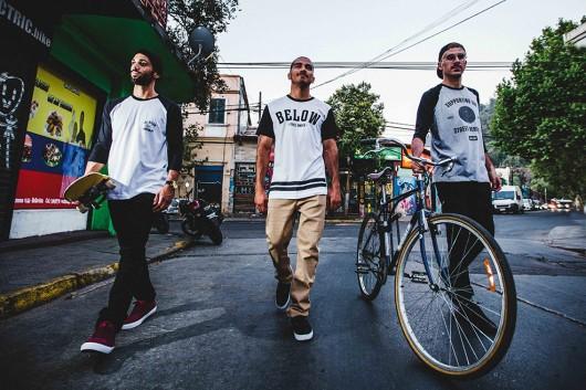 Street wear masculino en BELOW Apparel, la firma de ropa de Matías Letelier