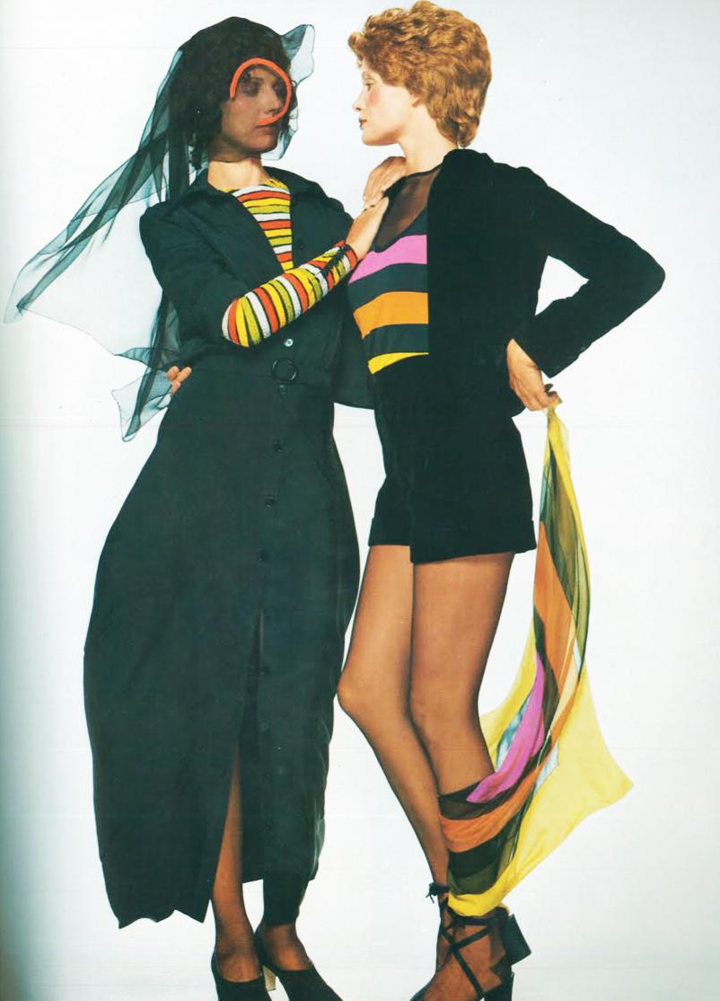 La moda de Vogue Italia en 1970 por Chris Von Wangenheim