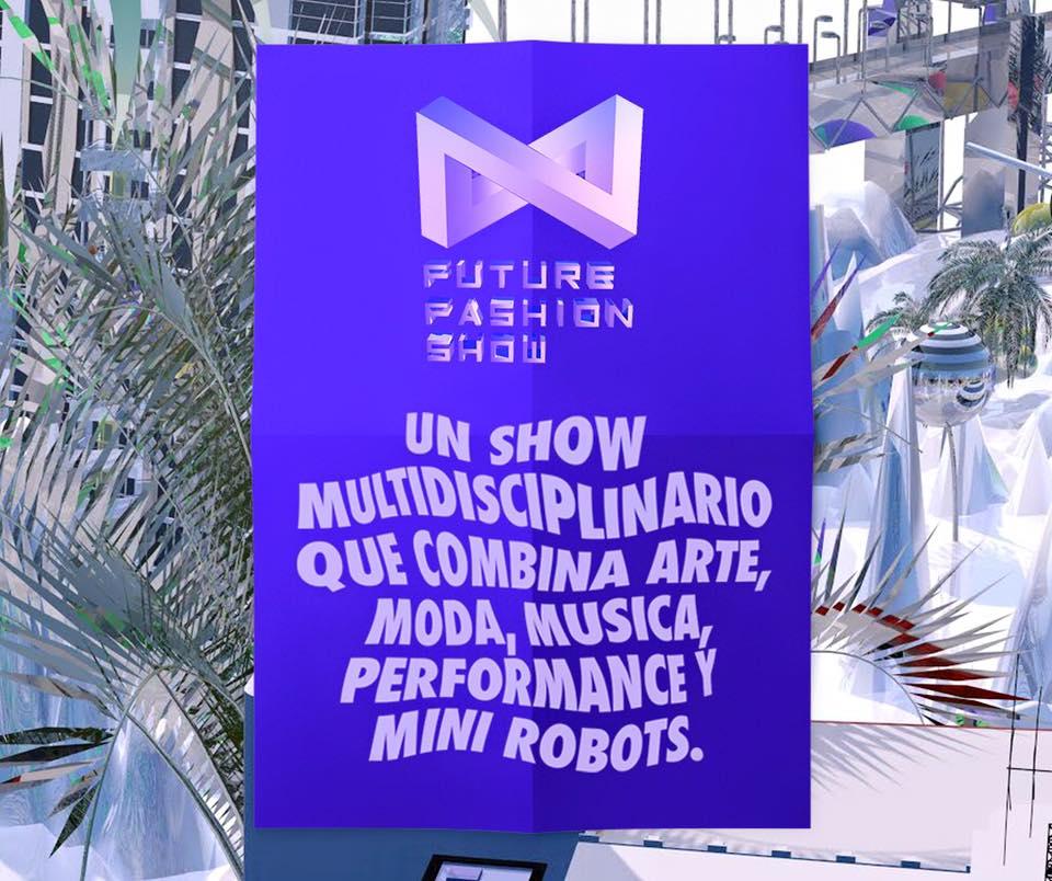 Tecnología, arte y diseño en Future Fashion Show, el desfile con robots que se tomará el Teatro IF de Barrio Italia el próximo 25 de mayo