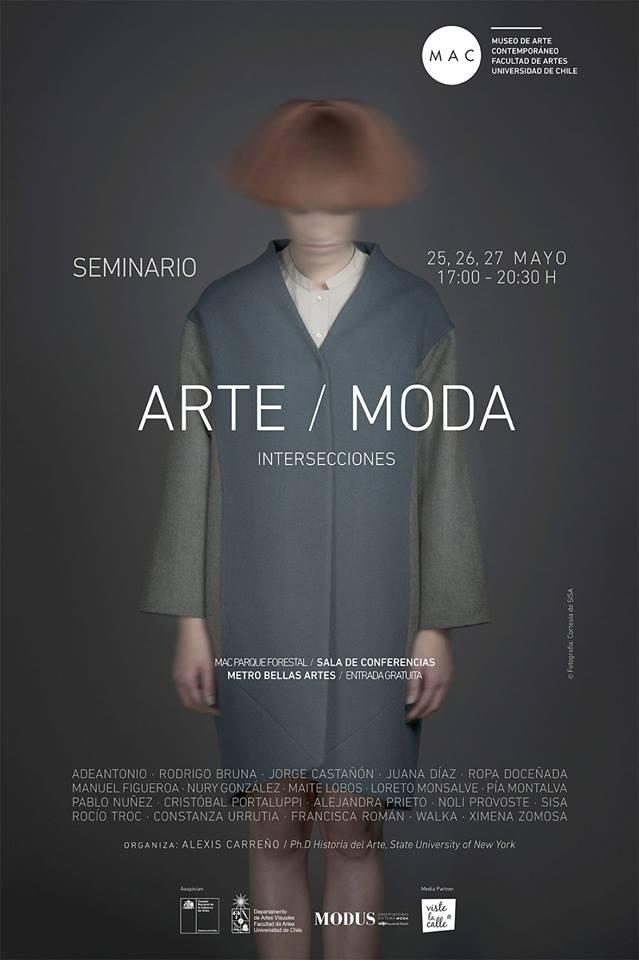 Seminario ARTE / MODA: INTERSECCIONES, un encuentro de arte y moda chilena a partir del 25 de mayo