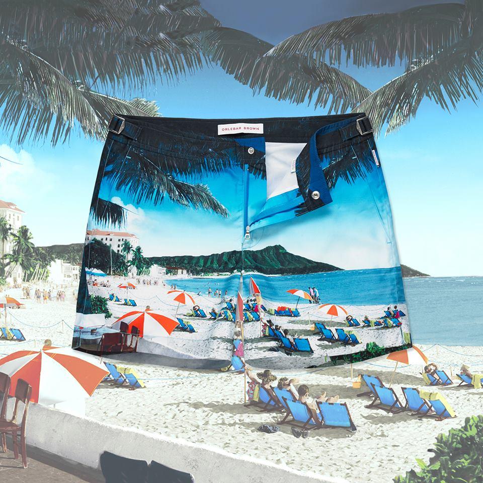 Orlebar Brown: Ropa para pensar y vestir como si estuvieras siempre de vacaciones