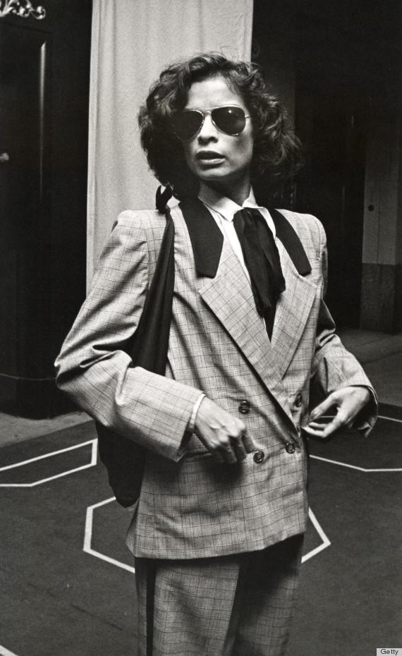 Inspiración visual: Bianca Jagger y su estilo invernal