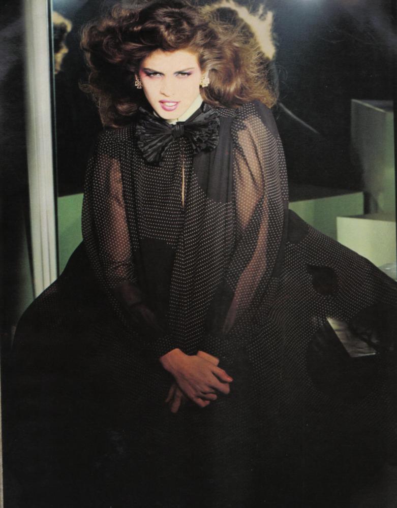 ¿Cómo eran las modelos de los '80?