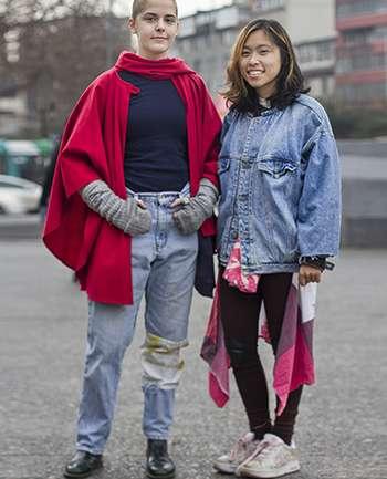 Agustina Zeges y Emilia Wang