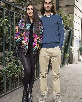 Javiera Ramírez y Alfredo Pizarro