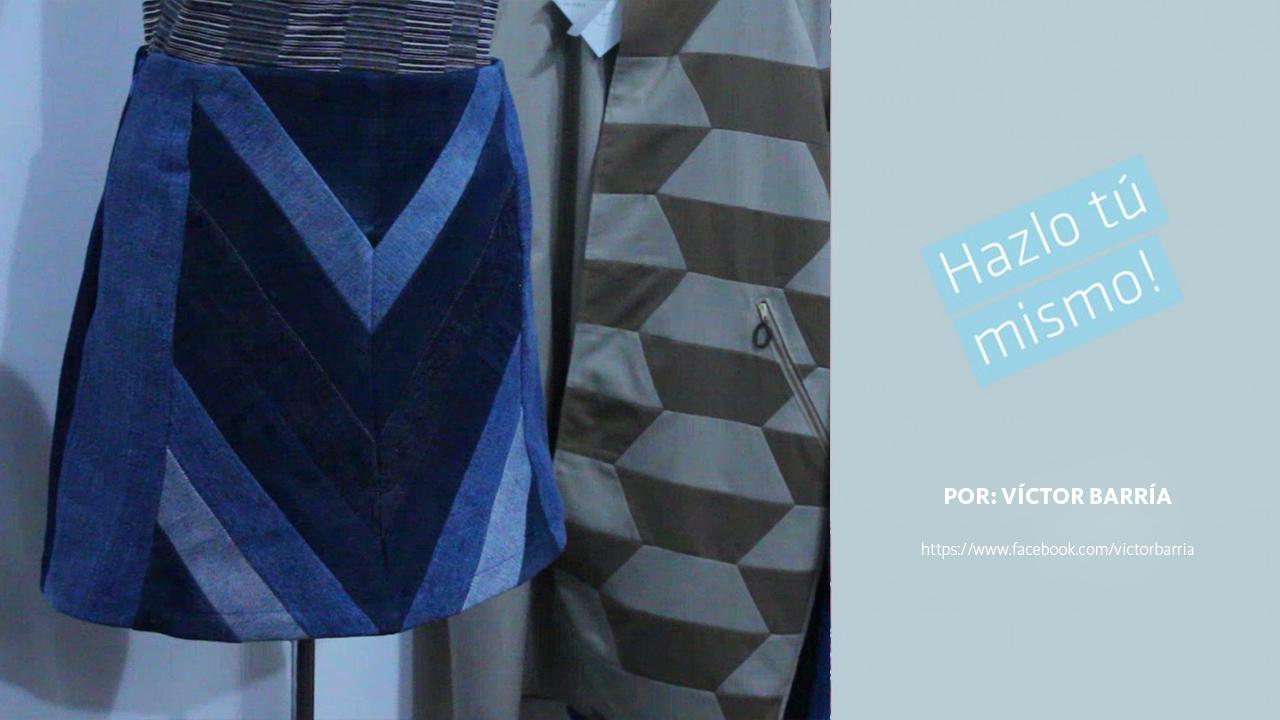 Hazlo Tú Mismo – Edición Diseñadores: Falda Patchwork Jeans
