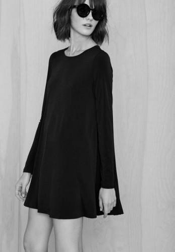 Cómo lucir un vestido negro según tu tipo de cuerpo