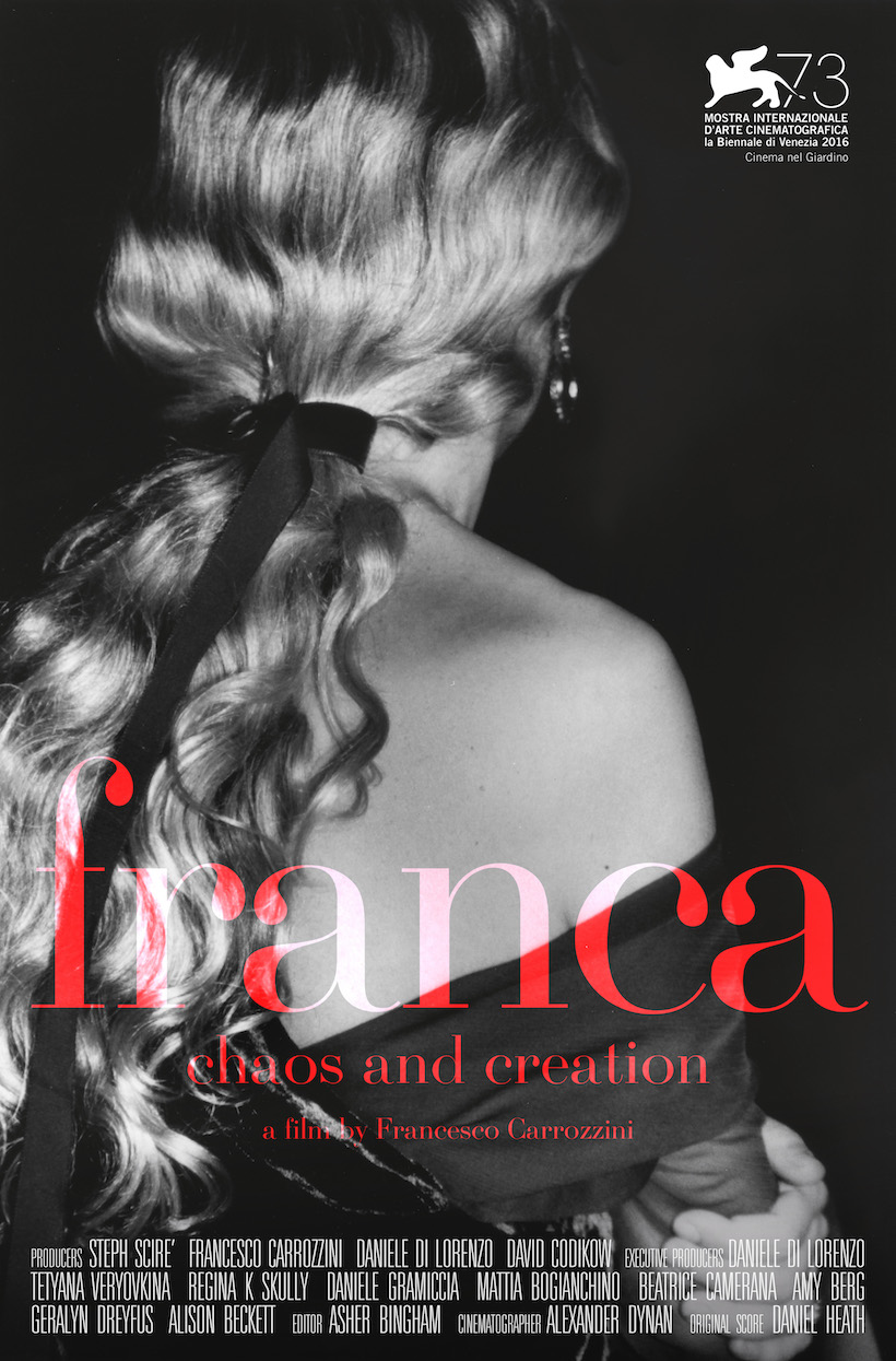 """Franca: Chaos and Creation"", el nuevo documental sobre moda que se viene"