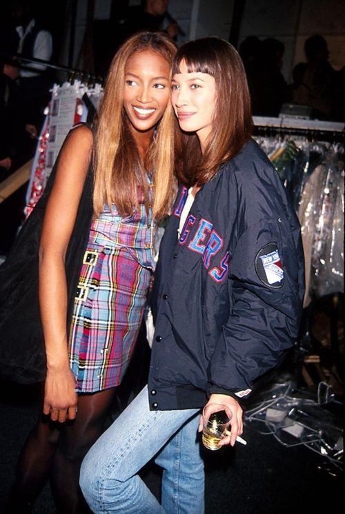 Inspiración 90's: ¿Cómo vestían las supermodelos?
