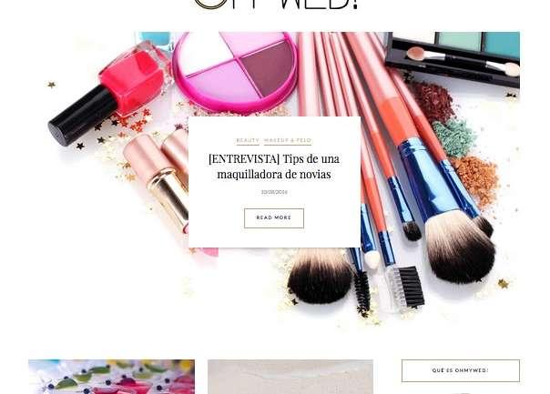 OhMyWed!, el nuevo sitio web chileno para novias