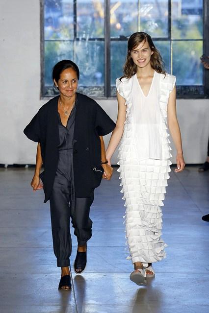 La diseñadora chilena María Cornejo nuevamente en New York Fashion Week